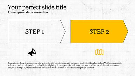 Promotion Plan Presentation Concept, Slide 3, 04206, Icons — PoweredTemplate.com