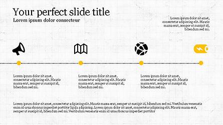 Promotion Plan Presentation Concept, Slide 4, 04206, Icons — PoweredTemplate.com