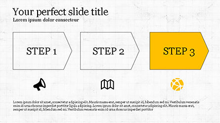 Promotion Plan Presentation Concept, Slide 5, 04206, Icons — PoweredTemplate.com