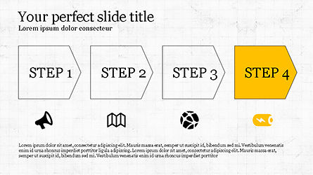 Promotion Plan Presentation Concept, Slide 7, 04206, Icons — PoweredTemplate.com
