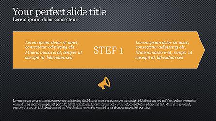 Promotion Plan Presentation Concept, Slide 8, 04206, Icons — PoweredTemplate.com