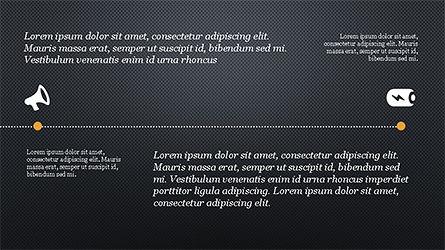 Promotion Plan Presentation Concept, Slide 9, 04206, Icons — PoweredTemplate.com