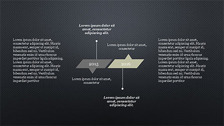 Timeline Report Concept, Slide 13, 04208, Stage Diagrams — PoweredTemplate.com