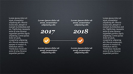 Timeline Report Concept, Slide 16, 04208, Stage Diagrams — PoweredTemplate.com