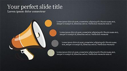 Idea Promotion Presentation Concept, Slide 13, 04210, Presentation Templates — PoweredTemplate.com