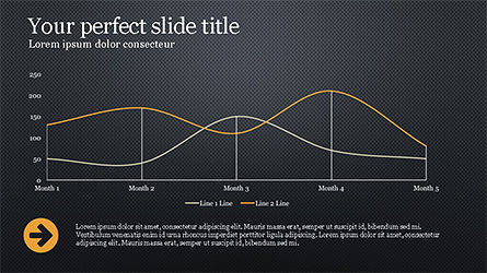 Website Promotion Presentation Template, Slide 10, 04211, Data Driven Diagrams and Charts — PoweredTemplate.com