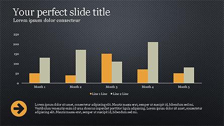 Website Promotion Presentation Template, Slide 13, 04211, Data Driven Diagrams and Charts — PoweredTemplate.com