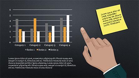 Website Promotion Presentation Template, Slide 16, 04211, Data Driven Diagrams and Charts — PoweredTemplate.com