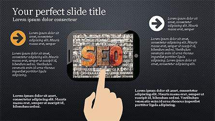 Website Promotion Presentation Template, Slide 9, 04211, Data Driven Diagrams and Charts — PoweredTemplate.com