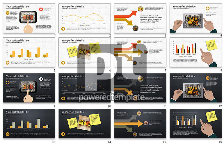 Website Promotion Presentation Template