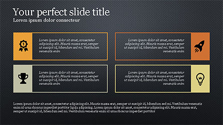 Text Boxes and Icons Slide 11