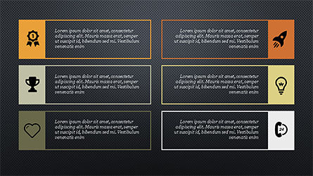 Text Boxes and Icons Slide 9