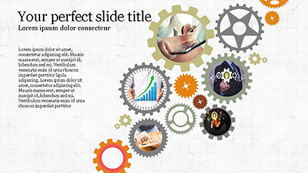 Presentation Templates: Agenda presentatie concept #04215