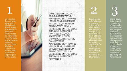 Agenda Presentation Concept, Slide 3, 04215, Presentation Templates — PoweredTemplate.com