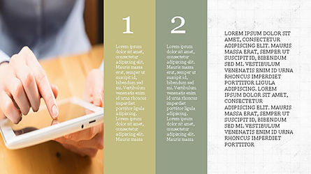 Agenda Presentation Concept Slide 8