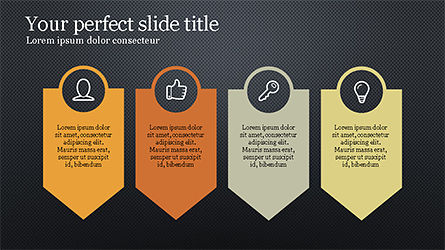 Key to Success Presentation Template, Slide 10, 04216, Presentation Templates — PoweredTemplate.com