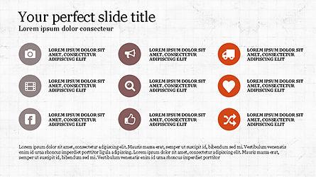 Options and Icons Slide Deck Slide 3