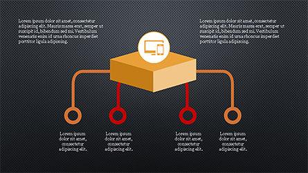Chevron Style Slide Deck, Slide 11, 04221, Process Diagrams — PoweredTemplate.com