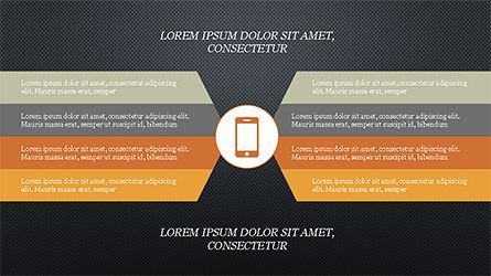 Chevron Style Slide Deck, Slide 13, 04221, Process Diagrams — PoweredTemplate.com