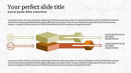 Chevron Style Slide Deck, Slide 2, 04221, Process Diagrams — PoweredTemplate.com
