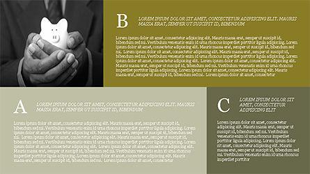 Grid Layout Brochure Presentation Template, Slide 11, 04222, Presentation Templates — PoweredTemplate.com