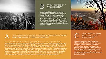 Grid Layout Brochure Presentation Template, Slide 16, 04222, Presentation Templates — PoweredTemplate.com