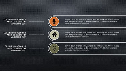 Flat Agenda Toolbox, Slide 12, 04223, Icons — PoweredTemplate.com
