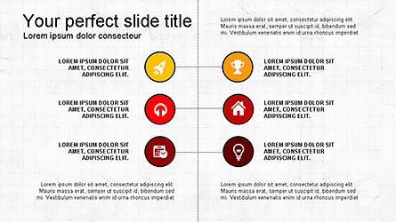 Flat Agenda Toolbox, Slide 3, 04223, Icons — PoweredTemplate.com