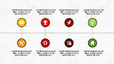 Icons: Caja de herramientas plana agenda #04223
