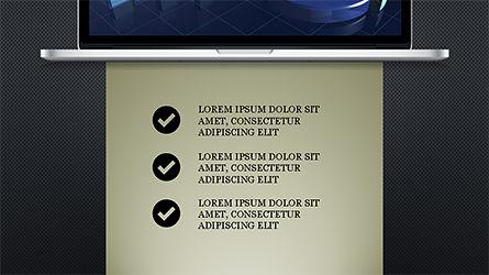 Flat Display Presentation Concept, Slide 10, 04225, Presentation Templates — PoweredTemplate.com