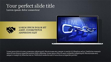 Flat Display Presentation Concept, Slide 11, 04225, Presentation Templates — PoweredTemplate.com