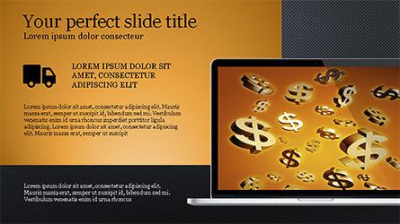 Flat Display Presentation Concept, Slide 13, 04225, Presentation Templates — PoweredTemplate.com