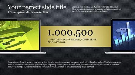 Flat Display Presentation Concept, Slide 14, 04225, Presentation Templates — PoweredTemplate.com