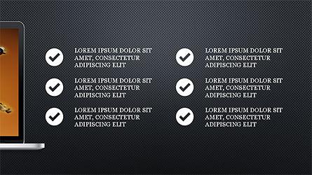 Flat Display Presentation Concept, Slide 15, 04225, Presentation Templates — PoweredTemplate.com