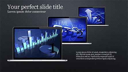 Flat Display Presentation Concept, Slide 16, 04225, Presentation Templates — PoweredTemplate.com