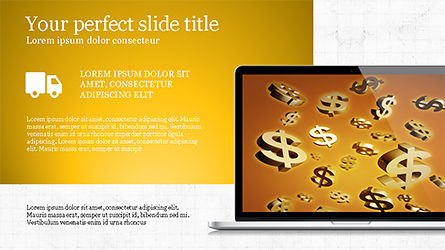 Flat Display Presentation Concept, Slide 5, 04225, Presentation Templates — PoweredTemplate.com