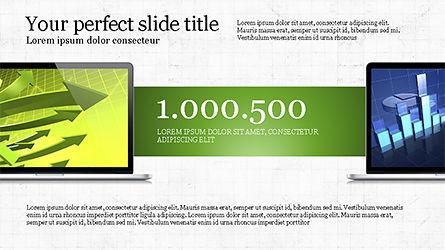 Flat Display Presentation Concept, Slide 6, 04225, Presentation Templates — PoweredTemplate.com