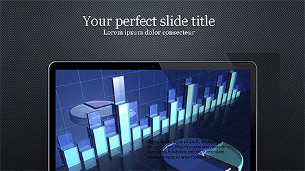 Flat Display Presentation Concept, Slide 9, 04225, Presentation Templates — PoweredTemplate.com