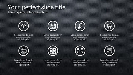 Business Presentation with Icons, Slide 13, 04226, Icons — PoweredTemplate.com