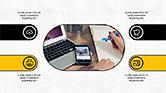Icons: Zakelijke presentatie met pictogrammen #04226