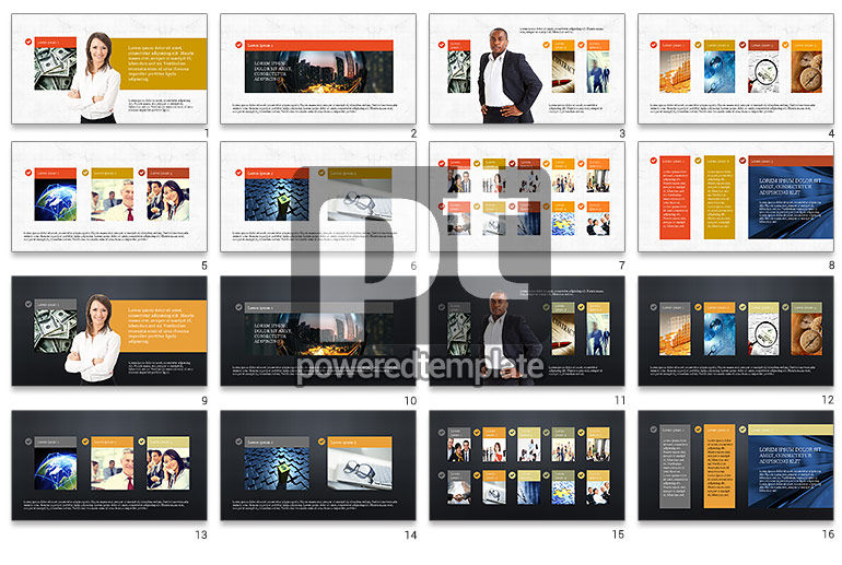 Financial Experts Presentation Template