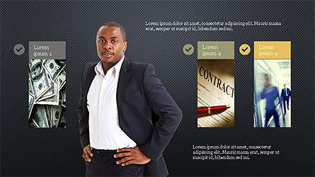 Financial Experts Presentation Template, Slide 11, 04227, Presentation Templates — PoweredTemplate.com