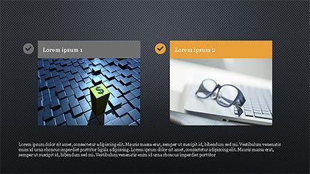 Financial Experts Presentation Template, Slide 14, 04227, Presentation Templates — PoweredTemplate.com