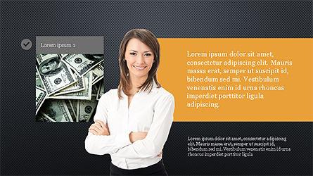 Financial Experts Presentation Template, Slide 9, 04227, Presentation Templates — PoweredTemplate.com