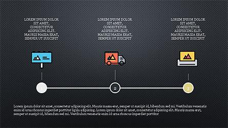 Process Flow Presentation Concept, Slide 12, 04228, Icons — PoweredTemplate.com
