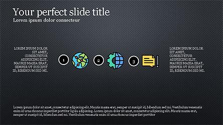 Process Flow Presentation Concept, Slide 15, 04228, Icons — PoweredTemplate.com