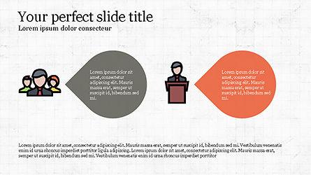 Process Flow Presentation Concept, Slide 5, 04228, Icons — PoweredTemplate.com