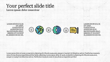 Process Flow Presentation Concept, Slide 7, 04228, Icons — PoweredTemplate.com
