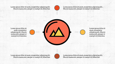 Process Flow Presentation Concept, Slide 8, 04228, Icons — PoweredTemplate.com