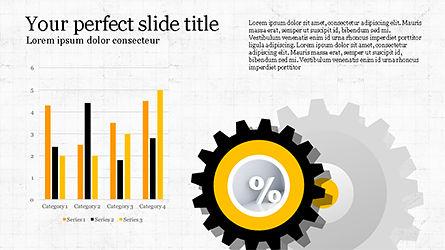 Efficiency Management Presentation Template, Slide 4, 04229, Infographics — PoweredTemplate.com